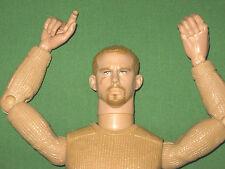 "GI JOE 12"" Beard TRIGGER Tan Wooley Pulley Sweater NUDE Action Figure 1/6 LOOSE"