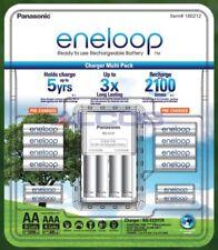 Panasonic eneloop NiMH Battery Charger + 8 AA + 4 AAA Bundle - Australia Version