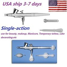 Single Action Trigger Air-paint Control Airbrush for Beauty Makeup Manicure US