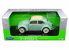 WELLY 1:18 1950 VOLKSWAGEN BEETLE (MJ EXCLUSIVE) Diecast Model Car 18040W-GRN