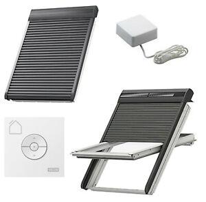 Velux INTEGRA® io-homecontrol® Außenrollladen SML 0000S/ SSL 0000S Elektro/Solar
