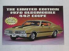Danbury Mint Brochure 1970 Oldsmobile 442 Coupe LE