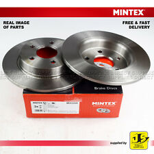 2X MINTEX REAR DISC BRAKES MDC2358 FORD FOCUS III SALLON/TURNIER 1.0 1.5 1.6 2.0