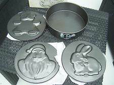 moule à gâteau 5 pièces   diamètre 25 cm