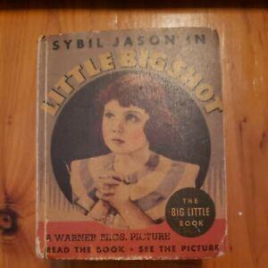 Little Big Shot, Sybil Jason, Big Little Book, Whitman 1935, Warner Brothers