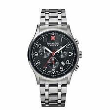 Swiss Military Quarz - (Batterie) Armbanduhren aus Edelstahl für Herren