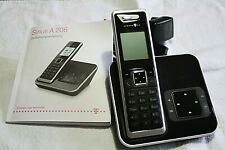 Sinus A 206 Basisstation + Sinus 206 vtech Mobilteil + AB + Anleitung -P