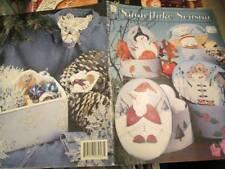 Snowflake Season Painting Book-Debbie Swan- Penguins/Snowmen