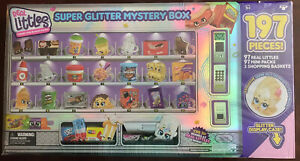 Shopkins Real Littles Super Glitter Box New 197 Pieces