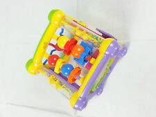 early learning activity cube square baby toddler children kids plastic play toy