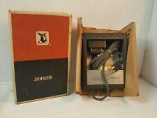 JOHNSON MESSENGER AC  power supply 239-0125-002  W Box EXELLENT CONDITION