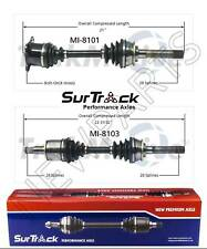 For Mitsubishi Montero 4WD 01-06 Pair of Front CV Axle Shafts SurTrack Set