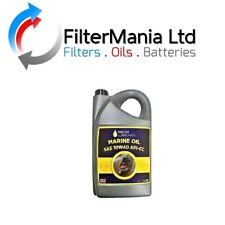 Marine Engine Oil 5L 10w40 API-CC Suitable for all Narrowboats oil req CC Oil