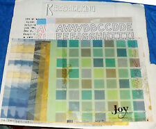 """Scrapbooking 15 Paper Pages & Vellum Builder Pages and Overlays 12"""" X 12""""   A6"""