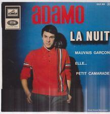 "7"" EP Adamo La Nuit / Mauvais Garcon / Elle / Petit Camarade 60`s"