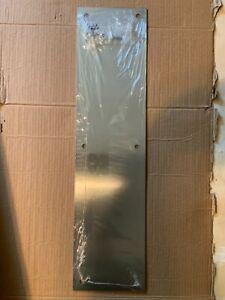 """Rockwood Stainless Steel Standard Door Push Plate 16"""" X 4"""""""