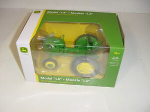 1/16 John Deere Model LA Tractor W/Wheel Weights by SpecCast NIB! Great Price!