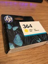 Genuine Original HP 364Y Yellow Printer Ink Cartridge