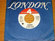 "PROMO DISCO 45 RPM - ANDRE GAGNON - LONDON PHASE 4 90022 - ""SURPRISE"""