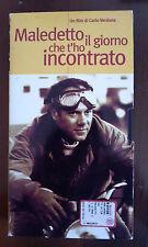 CS4> FILM VHS MALEDETTO IL GIORNO CHE TI HO INCONTRATO DI CARLO VERDONE