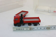 Wiking 601 30 Fire Brigade - Flatbed Trailer Man F 90 060130 1:87
