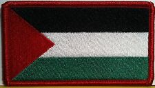 PALESTINE Flag Military Tactical Patch With VELCRO® Brand Fastener Red Emblem #8