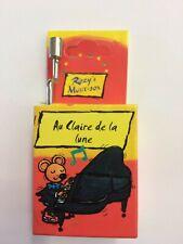 Kurbelspieldose Musik-Box-Spieluhr Au Claire de la lune 1 Stück Fridolin 59208