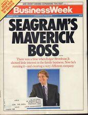 Business Week December 18 1989 Edgar Bronfman Jr Seagram's 090618AME2
