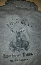 Ralph Lauren Polo Sportsman Outfitter RRL Country PRLC Elk Hunter Grey Jacket Lg