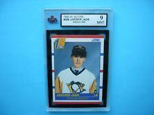 1990/91 SCORE NHL HOCKEY CARD #428 JAROMIR JAGR ROOKIE KSA 9 MINT SHARP+ 90/91