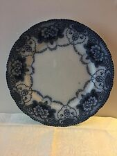 "Flow Blue F & Sons Douglas Burslem 10.5"" Antique Plate"