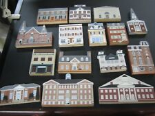 Lot of 15 The Cat's Meow KENT COUNTY MARYLAND House Building Figures Joline 1990