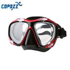 Copozz Myopia Scuba Dive Snorkel Optical Mask Nearsighted -2.0 to -6.0 Goggles