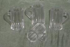 4x Bierglas/Glas/Trinkglas,Maßstab 1:12,Miniatur f.d. PuppenstubePuppenhaus #02#