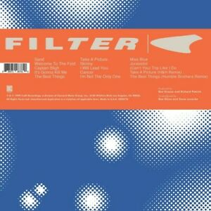Filter - Title Of Record [New Vinyl LP] Explicit