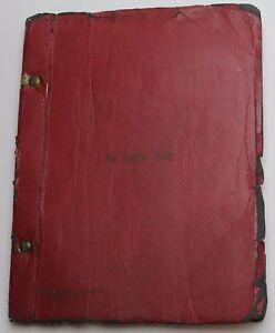 THE PAJAMA GAME / George Abbott 1954 Broadway Play Script WON Tony Best Musical