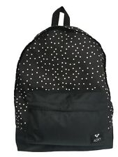 ROXY Women's Sugar Baby Mix 16L Small Backpack Black Polka Dot NEW RRP £32