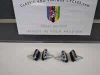 NOS Vintage Campagnolo1st Gen 1984 Delta C Record Brake Holders & Shoes Pads