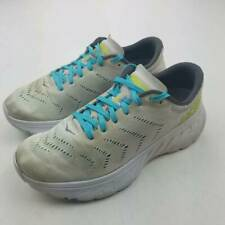 Hoka One One Mens Sneakers White Green Lace Up Low Top Shoes 8.5 M