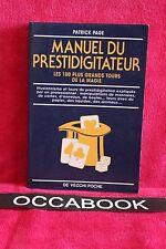 Manuel du prestidigitateur : Les 100 plus grands tours de la magie -  P. Page