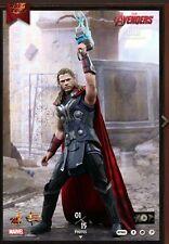 Hot Toys Vengadores Thor Edad de Ultron 1/6 Figura a Estrenar con la realidad aumentada