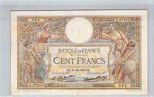 FRANCE 100 FRANCS LOM 11.12.1930 A.27910 N° 697725093 PICK 78b