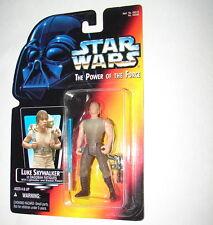Star Wars POTF Luke Skywalker Dagobah Short saber MOC 1996 Kenner orange 1014