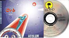 THE ORB Asylum 1997 UK 1-trk promo CD CIDDJ657