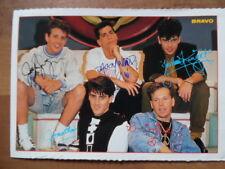 NEW KIDS ON THE BLOCK 3* --- BRAVO - Autogrammkarte 263 K