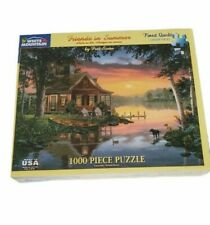Friends in Summer by Fred Swan 1000 Piece White Mountain Puzzles