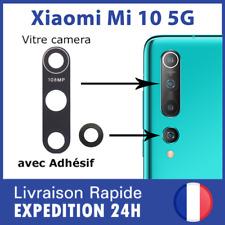 Pour Xiaomi Mi 10 5G vitre lentille camera arrière appareil photo lens cover