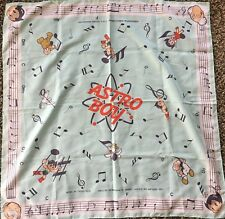 Rare Astro Boy Handkerchief Tezuka Production Astro Boy Bandana