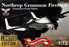 SOVA-M 72003 Northrop Grumman Firebird Unmanned Aerial Vehicle, plastic kit 1/72