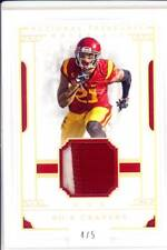 sua cravens rookie rc draft game used gu jersey patch usc trojans college 2c 4/5